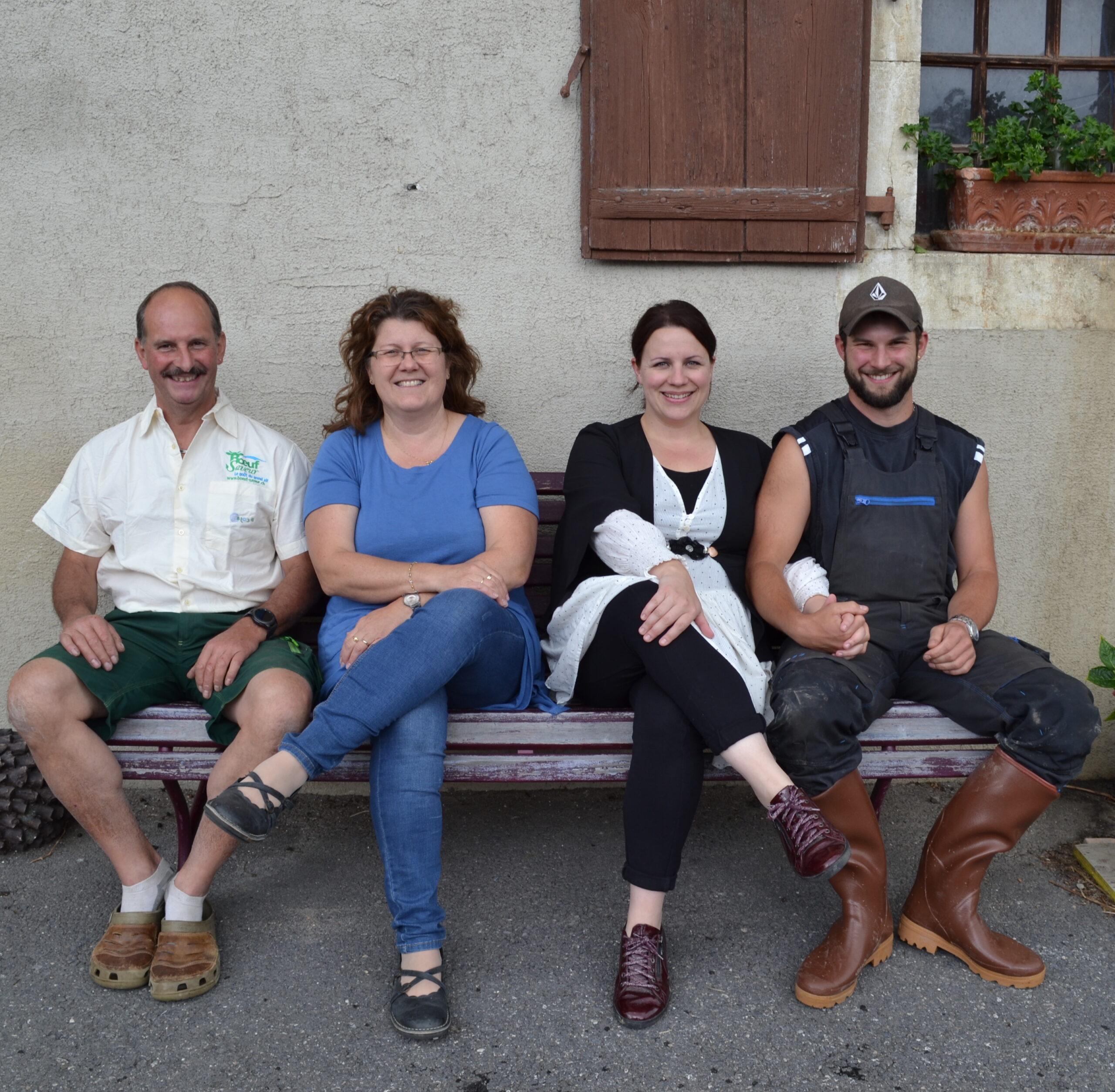 Famille Rochat - Eleveurs de bétail bio en suisse